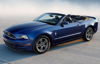 Rent 2014 Ford Mustang Convertible